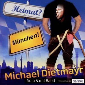 Cover der CD: Heimat? München!