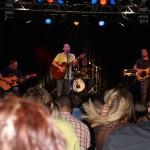 Michi auf der Bühne mit Publikum